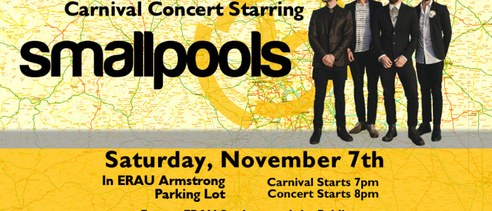 Blue and Gold Week: Carnival Concert with SMALLPOOLS